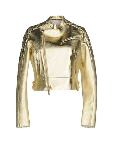 DSQUARED2 Women's Jacket Gold 8 US
