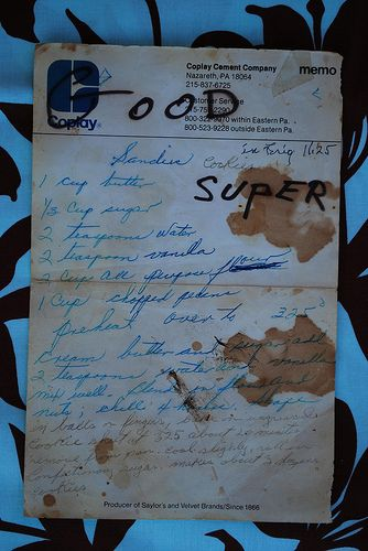 Good Super Recipe from Grandmother Pearl Keith   handwritten recipe card / from the heart / preserving recipes / collection from the Jenkins family / Flickr photography by alli tray / fly birdie studio