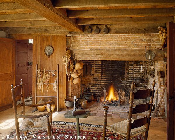 25 best ideas about early american on pinterest free for Walk in fireplace designs