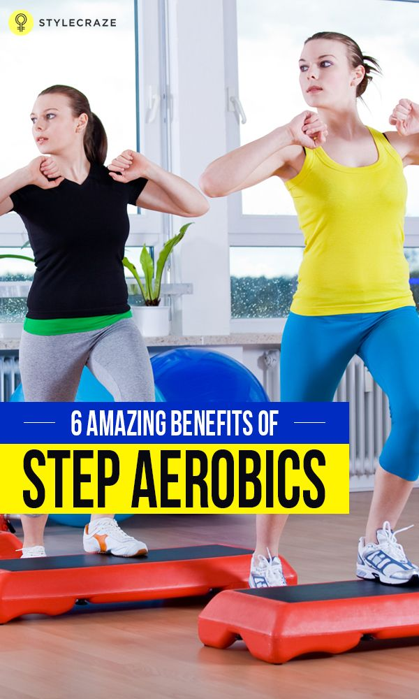 Be it a short warm-up session or intense strength training, a step bench can serve the purpose of an ideal prop all the time. However, the best use of it is found in aerobics or hard core cardio training.