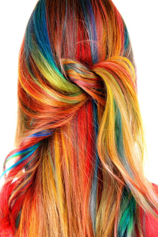 Kool Aid Hair Dye Kool Aid Hair Kids Hair Color Rainbow Dyed Hair