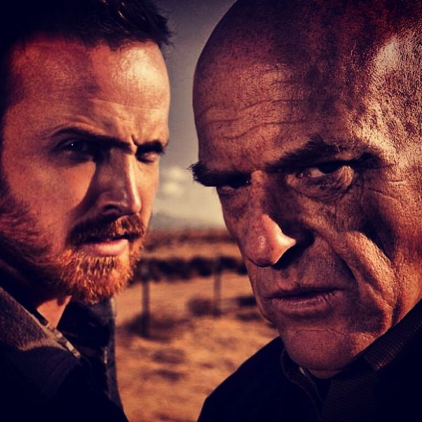 Uh, oh. Jesse and Hank ..... Breaking Bad.