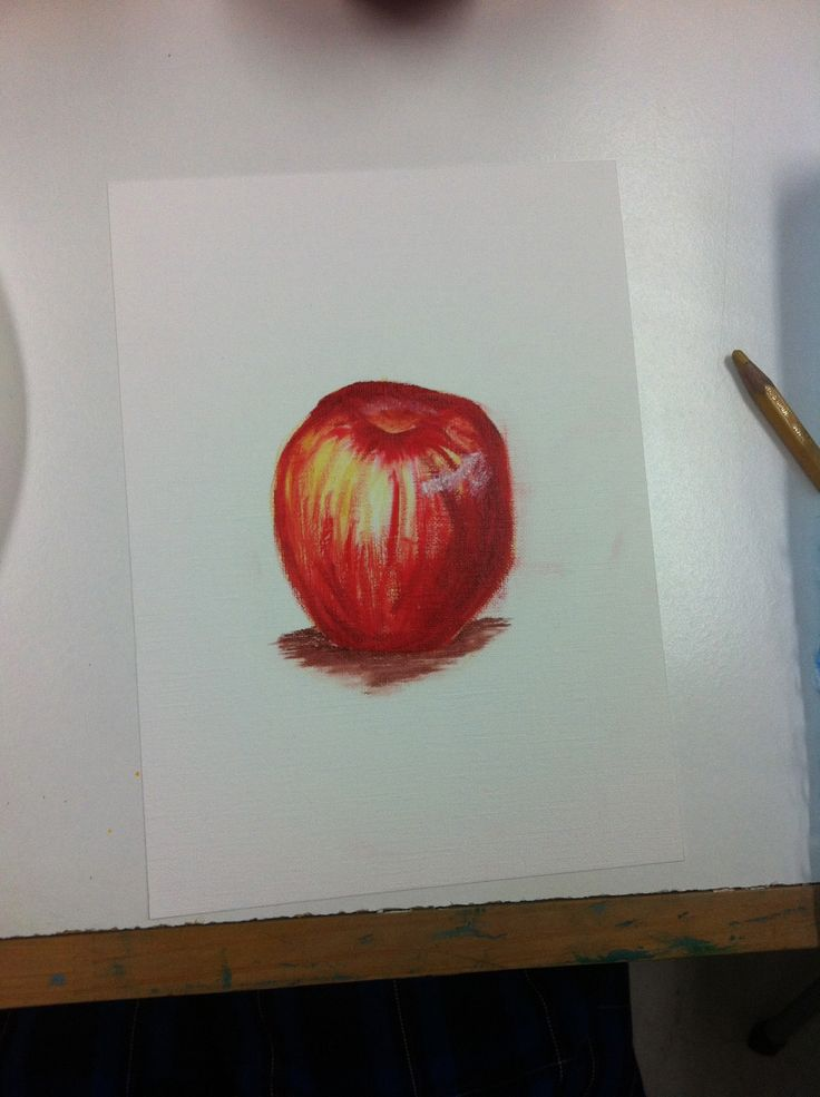 A first time oil painting from life - how do you like them apples!  www.artandco.com.au