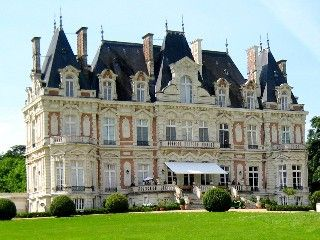 Chateau in the beautiful Loire-Valley, between Angers and Nantes. Holiday Rental in Le Bourg-dIre.