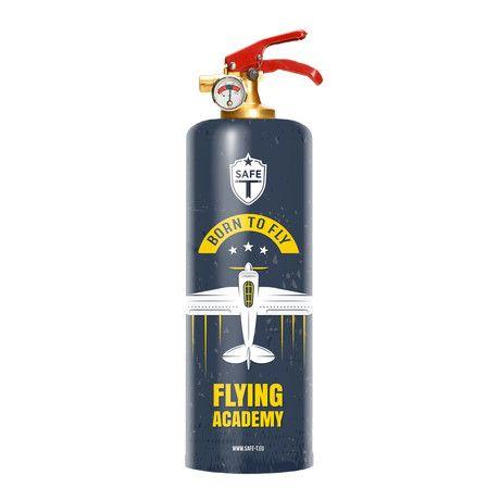 Safe-T Designer Fire Extinguisher // Flying Academy