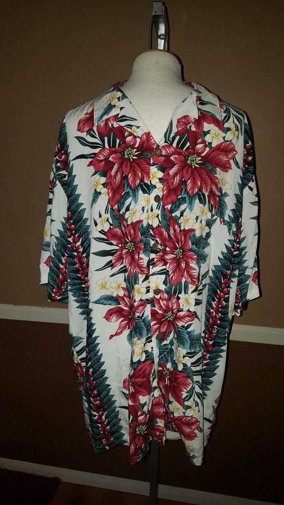 """The Hawiian Original, """"Hilo Hattie"""" Men's Hawiian Shirt, 2 XL #TheHawiianOriginal #Hawaiian"""