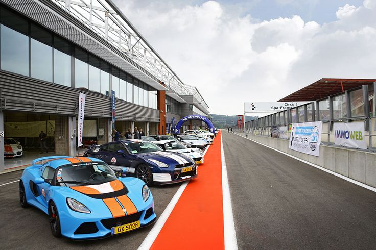Preparing for the first Premium Trackday on 28 of march 2015 at Spa-Francorchamps.