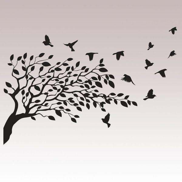 Lintuparvi - Sisustustarra, Sisustustarrat