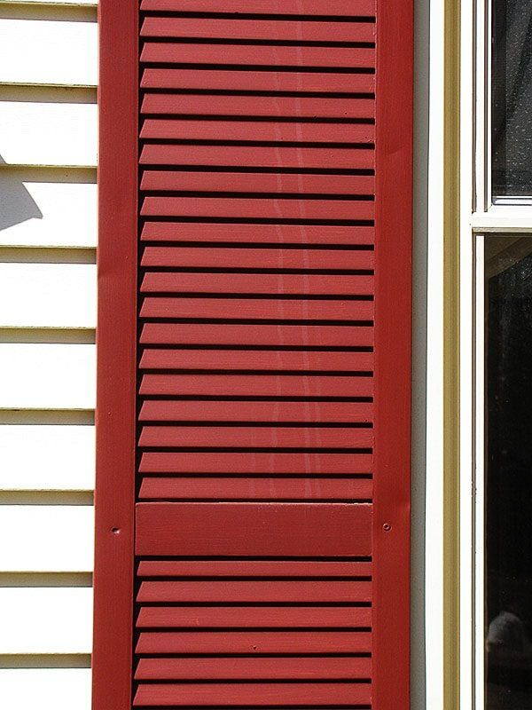 181 best curb appeal images on pinterest arbors blinds and exterior shutters for Vinyl vs wood exterior shutters