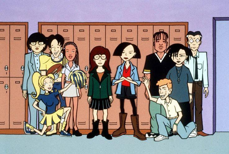 The best cartoon ever!  La, La, La, La  Daria!
