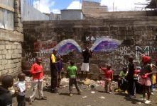 koyale, nairobi, angel wings, street art, colette miller