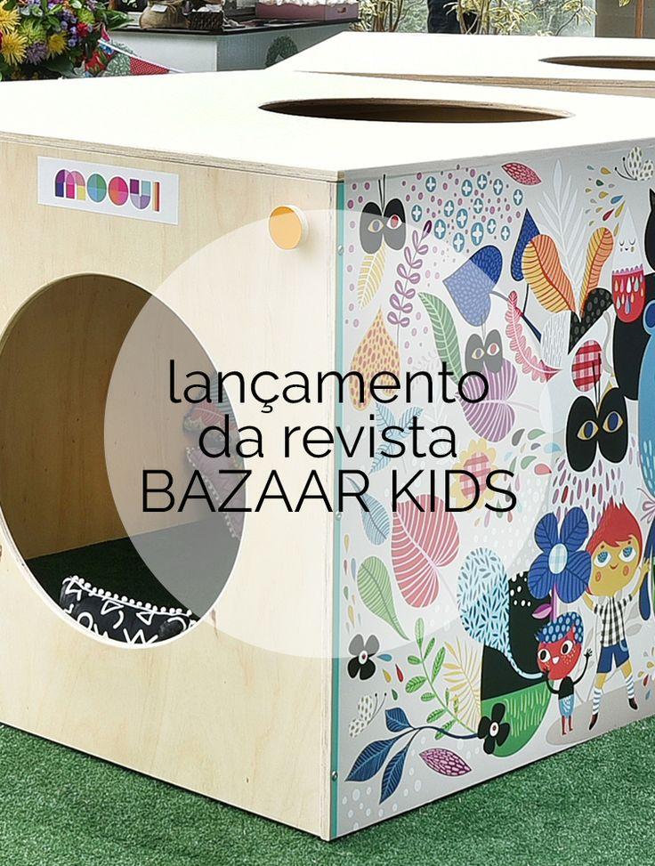 Para comemorar o lançamento da revista Bazaar Kids, a equipe da publicação preparou um evento especial no rooftop do Shopping Iguatemi São Paulo. As marcas que estavam presentes prepararam ações para divertir a criançada durante as quatro horas de festa. #bazaarkids #blogdamooui
