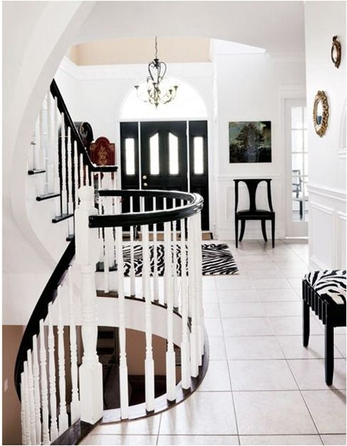 The ACHROMATIC colour scheme | Interior design homework