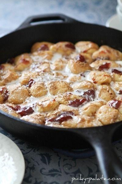 Peanut Butter & Jelly Skillet Monkey Bread plus 56 other pbj recipes