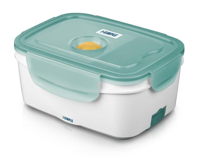 Lonchera eléctrica portátil. Portable Electric Lunch Box.