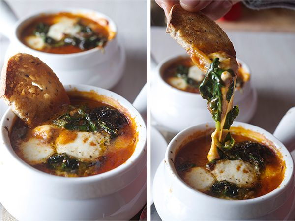 Tomatoe-Spinach-Soup