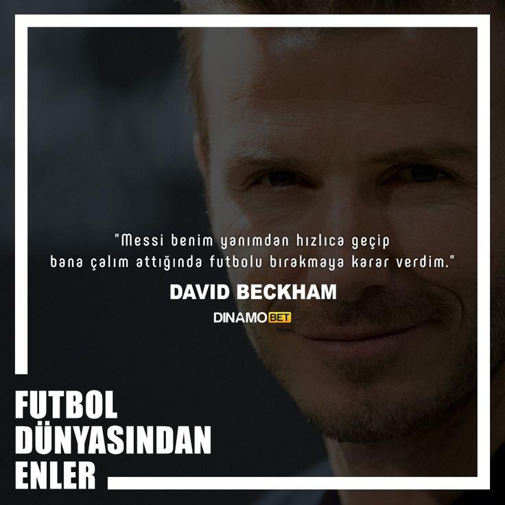 Beckham'ın futbolu ağlayarak bırakmasının altında yatan sebep belli oldu :) www.dinamobet17.com #dinamobet #davidbeckham