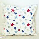 """Ich sehe """"Sterne am Himmel,Sterne am Himmel.."""" - wunderschön :o)  Der Lampenschirm ist auch im Dawanda-Lovemag 5 zu bewundern."""