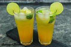 Vorsicht! Bereits ein Cocktail Ipanema macht schon süchtig! Der alkoholfreie Cocktail ist ein prickelnder Kracher im Sommer!