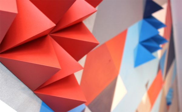 UNLIKE exhibition by z i c s , via Behance