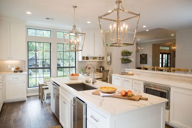 25 best ideas about double island kitchen on pinterest for Capital one kitchen cabinets