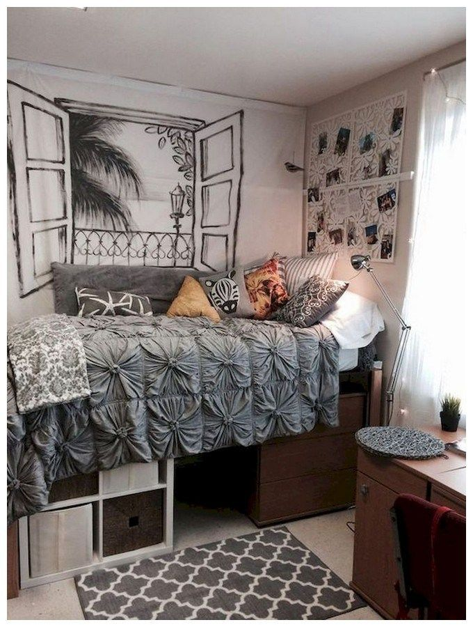 36 Extraordinary Dorm Room Ideas That Inspire You Page 28 Of 36 Ciara Decor In 2020 Dorm Room Designs College Bedroom Decor College Dorm Room Decor