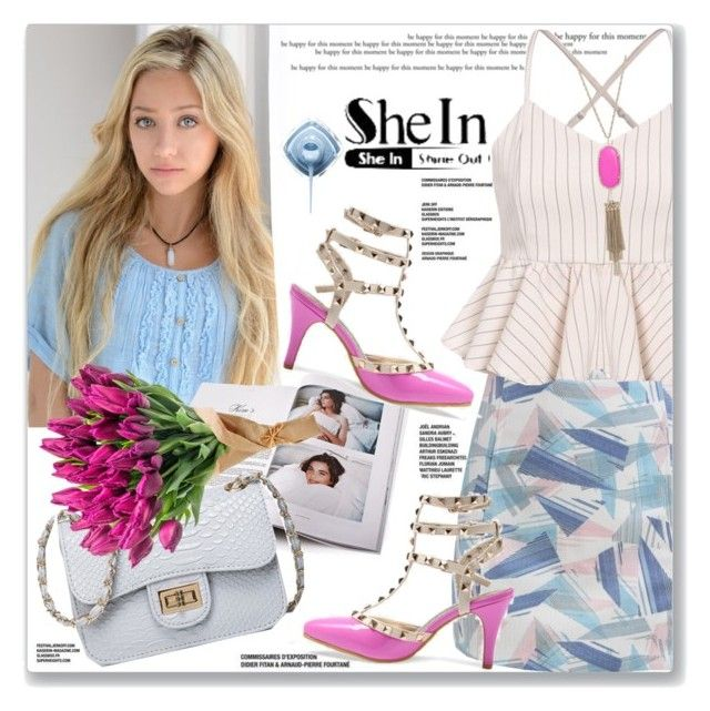 """WIN SHEIN $30 COUPON"" by pentacla ❤ liked on Polyvore featuring Kendra Scott and shein"