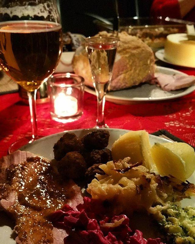 Julmat!! Har aldrig varit godare!! 😄👌 #christmaseve #christmas #jul #julmat #christmasfood