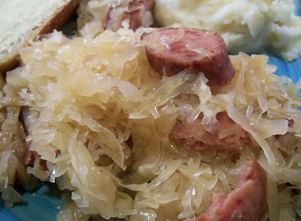 """Pinner says: """"One of my favorite German traditions - Sauerkraut! Eat it on New Year's Day and you'll have a GREAT financial year"""" Worth a shot, right?! :)"""