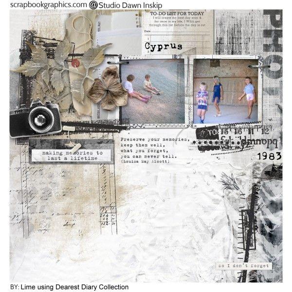 Dearest Diary Credits: Dearest Diary Collection by Dawn Inskip.