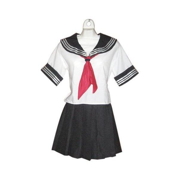 Uniforme Escolar Tipo Japones Marinero Anime Cosplay Disfraz - $... ❤ liked on Polyvore featuring dresses