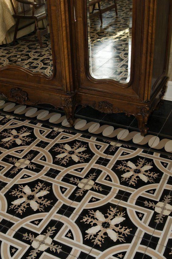 encaustic cement tiles -