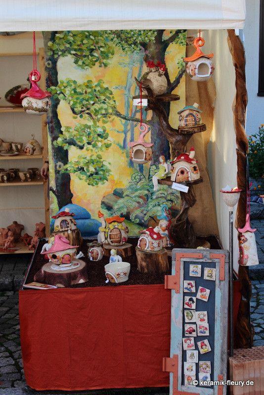 Keramik Wichtelwelt Töpfermarkt