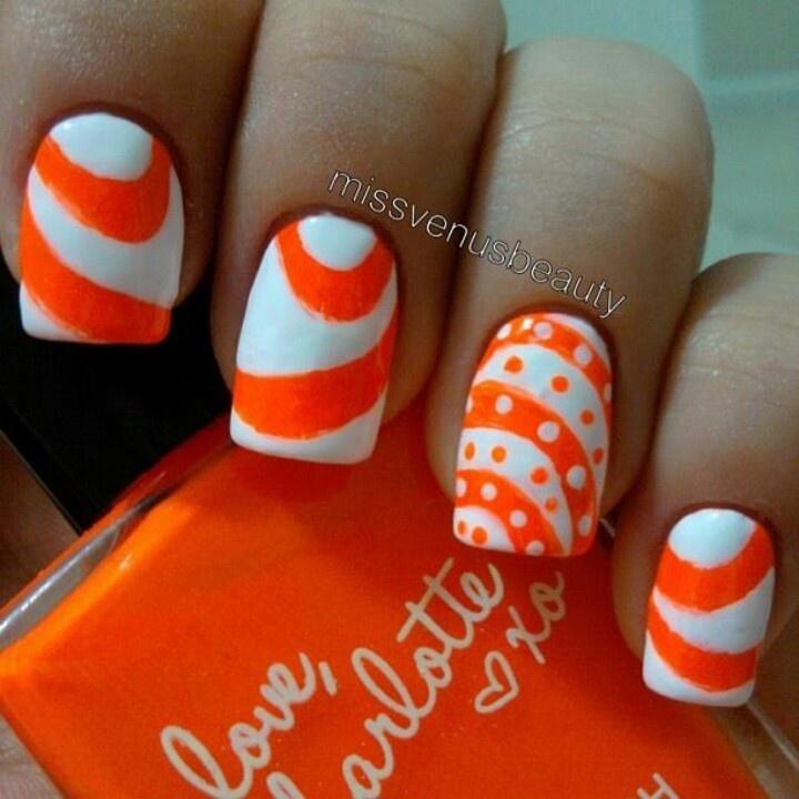 Fingernail Painted Different Color