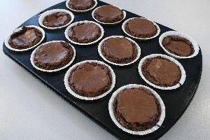 Chokolade Muffins (A la brownies) 4
