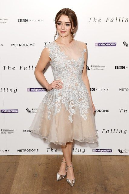 Maisie Williams in Narces Gabby at The Falling screening