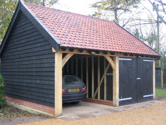 Timber Garage Cartlodge