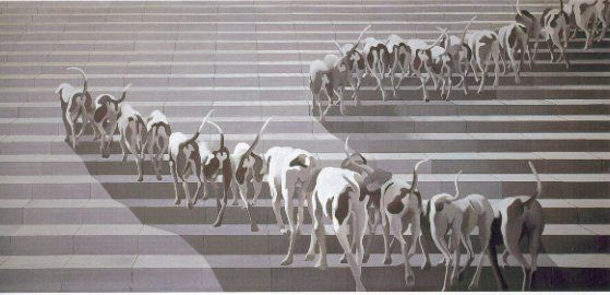 V/ LE XXe SIÈCLE ET L'ART CONTEMPORAIN Cueco L'escalade (1973-1974)