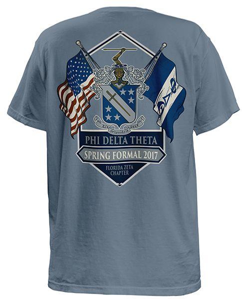Phi Delta Theta | Spring Formal | Fraternity Flag Tee