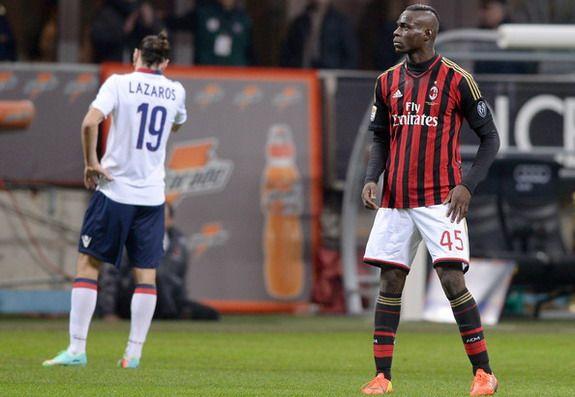 Goal of the day: Mario Balotelli (AC Milan) vs Bologna
