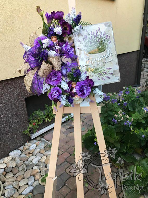 Lavender Wreath Flower Wreath All Season Wreath Mothers Day