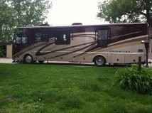 2008 Used Fleetwood Excursion 39R Class A in Nebraska NE.Recreational Vehicle, rv, PRICE REDUCTED $113,500.00. Well below dealer Price! 2008 Fleetwood Excursion 39R, Non-smoking unit, very clean Many extras. 4 awnings (two remote), self leveling, 4 TV's, side by side stainless steel refrigerator, 2 flex steel 6 way captain chairs with heat., sleep number queen bed., microwave/convection oven plus regular 3 burner store and oven, wooden table with 4 chairs, washer/dryer combo, generator, 2…