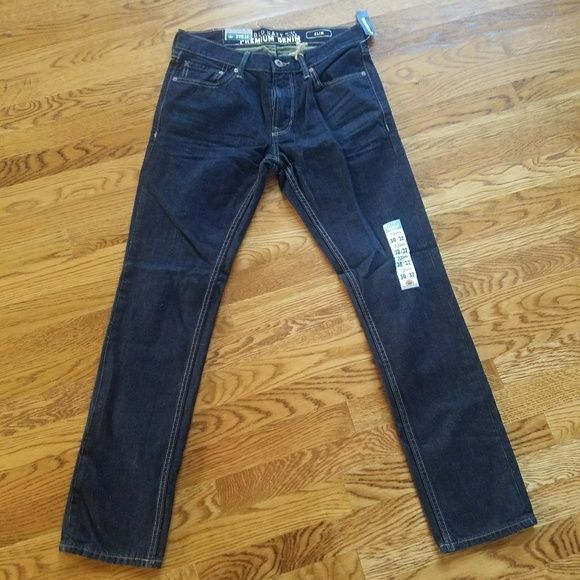 Old Navy Other - Old Navy premium slim micro blue 30x32 jeans NWT