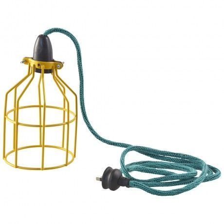 Image result for turquoise lamp cord
