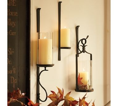 53 best Wall Sconces images on Pinterest | Appliques, Candle wall ...
