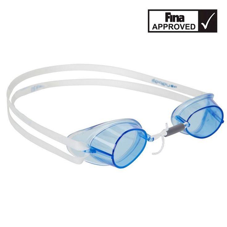 €5,99 - Deportes Natación - Gafas natación suecas silicona azul - NABAIJI
