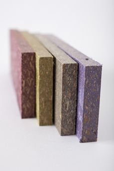 Chylon - Wood polymer composite (WPC) material that is 55% recycled polyethylene (PE) and 45% recycled wood