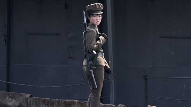 Rape and no periods in North Korea's army