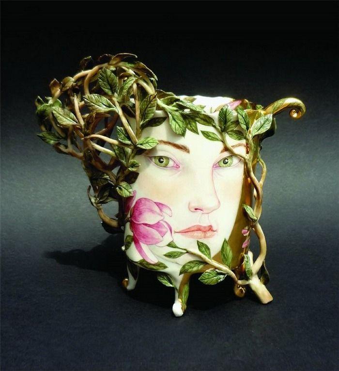 Porcelain by Irina Zaitseva /Завораживающий фарфор Ирины Зайцевой - Ярмарка Мастеров - ручная работа, handmade
