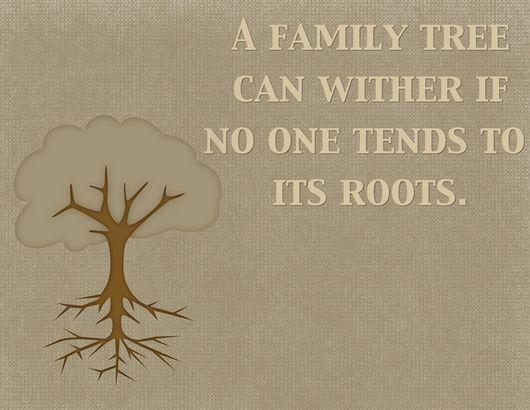 Family genealogy quotes
